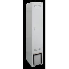 Шкаф металлический для одежды со скамьей ШО-1С