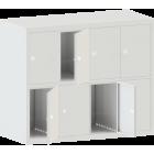 Шкаф металлический для одежды ШО-8Г (локер)