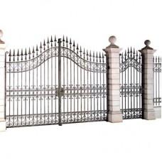 Ворота кованные металлические