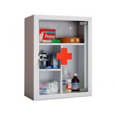 Медицинский шкаф металлический АМД 39Г