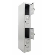 Гардеробный шкаф МЛ 14-30 (локер)